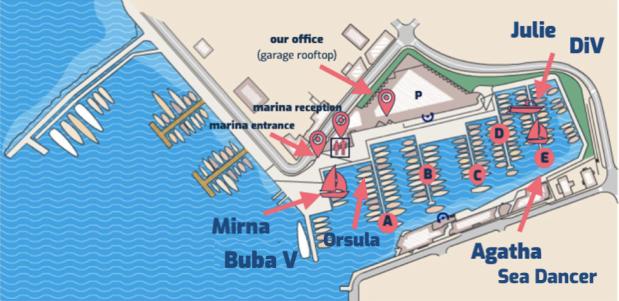 Sailhunt_Marina Zadar_boat berths